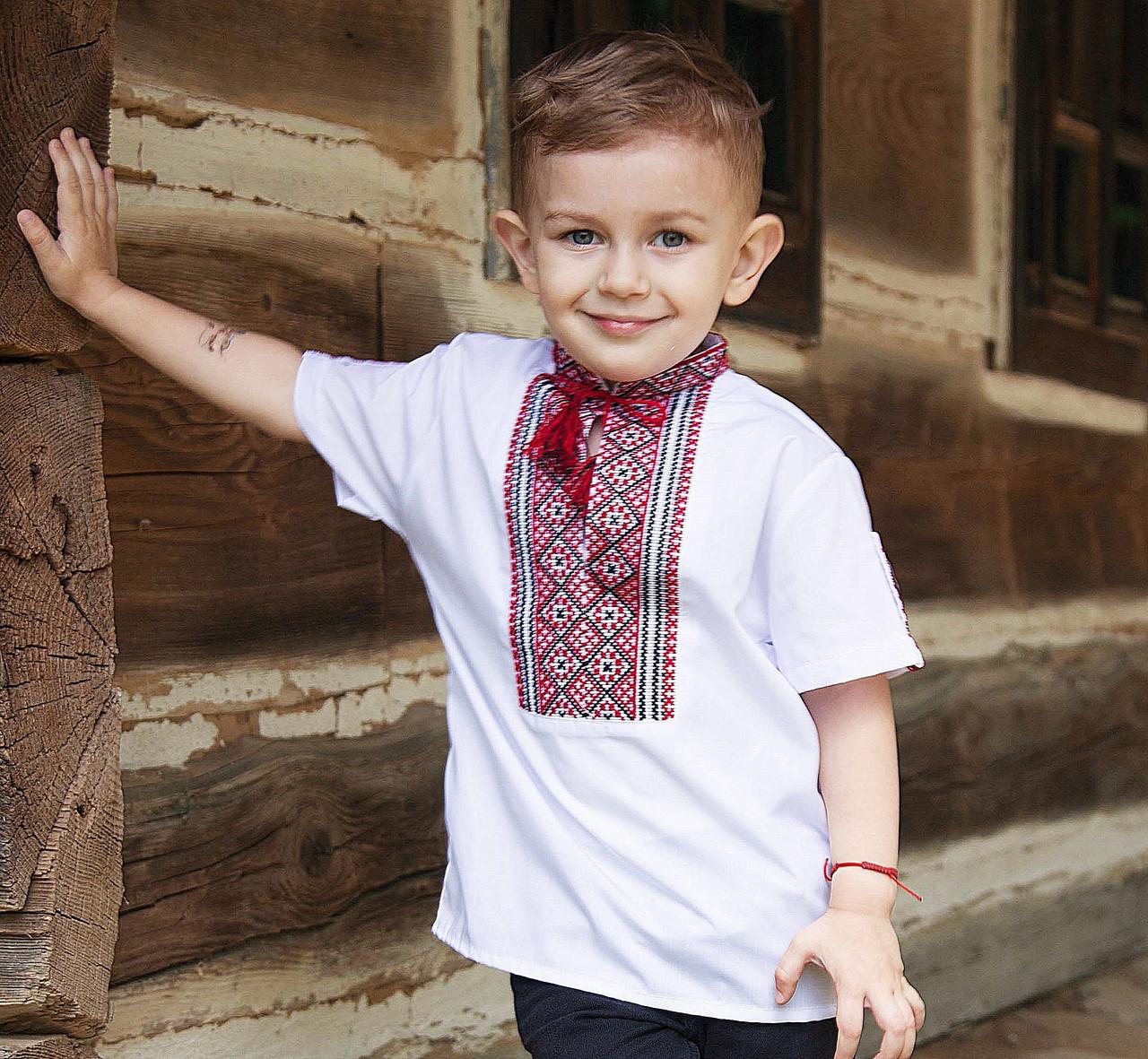 Вишиванки для хлопчиків короткий рукав(ручна вишивка 4b1a8ed6e3d1b