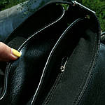 Сумка мужская Jak, 22*20*5 см, черный, фото 6