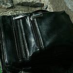 Сумка чоловіча Jak, 22*20*5 см, чорний, фото 5