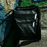Сумка мужская Jak, 22*20*5 см, черный, фото 3