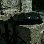 Сумка чоловіча Jak, 22*20*5 см, чорний, фото 4