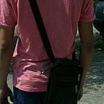 Сумка мужская Jak, 22*20*5 см, черный, фото 7
