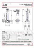 Гидроцилиндр с шарниром и кронштейном Binotto MF 145-4-4900 RP (фронтальный), фото 2