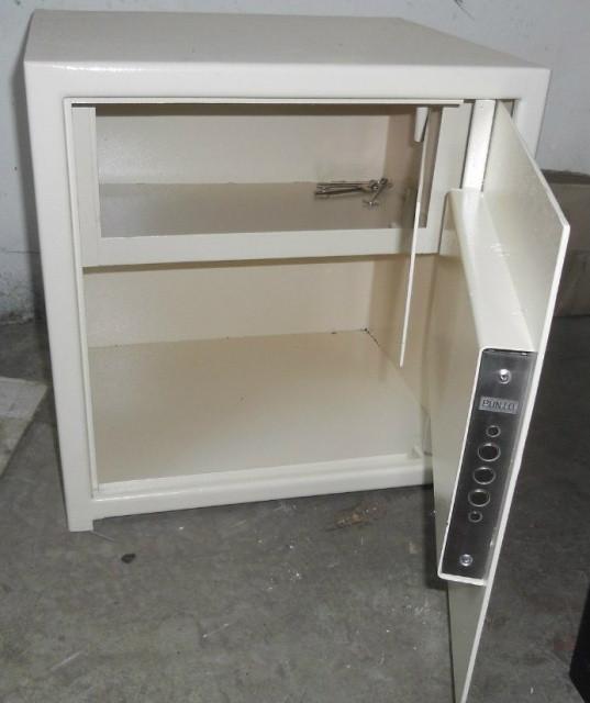 Сейф мебельный СМ-400Т с закрываемым отделением (трейзером)