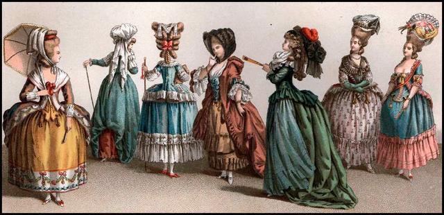 Мода стиля барокко.