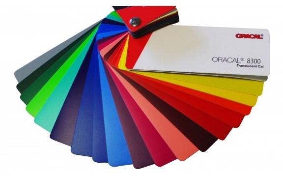 Пленка ORACAL Серия 8300 для рекламно-оформительских и витражных работ