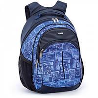 Рюкзак Dolly 513 ортопедический на два отделения карманы спереди и сзади 30 см х 40 см х 22 см