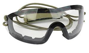 Окуляри-маска SWISS EYE INFANTRY CLEAR ANTI-FOG COATING LENS