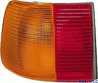 Фонарь задний Audi 100 91-94 седан правый (DEPO) внешний, Желтый 131688-E