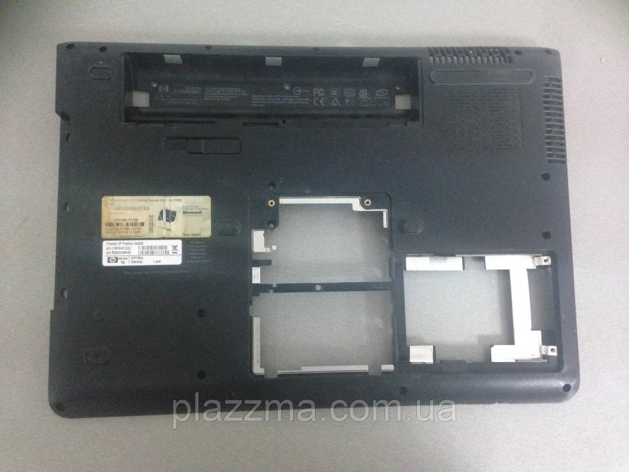 Нижняя часть корпуса HP DV6000(dv6105us) б у б/у