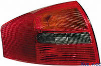 Фонарь задний Audi A6 седан 01-05 левый (DEPO) зад ход красно-дымч. 132787-E
