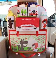 Органайзер в автомобиль детский Красная шапочка Бежевый (04006), фото 1