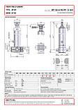 Гидроцилиндр с шарниром и кронштейном Binotto MF 165-4-4700 RP (фронтальный), фото 2