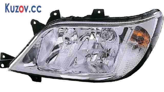 Фара Mercedes Sprinter 02-06 левая (DEPO) электрич., H3+H7+H7 440-1137L-LDEMF