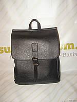 Мужской рюкзак кожзам с клапаном       , фото 1