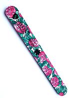 Пилочка для ногтей Salon Professional Sanitizable 100/180 цветы