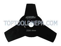 Нож для бензокос Eurotec GT-110, 3-х лопастной