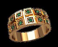 Золотое мужское кольцо Герцога