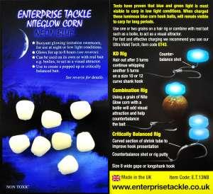 Кукуруза Enterprise tackle Niteglow Corn Neon Blue