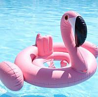 Детский круг Розовый фламинго с трусиками ХИТ Сезона