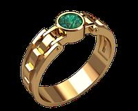 Мужское золотое кольцо Шляхты