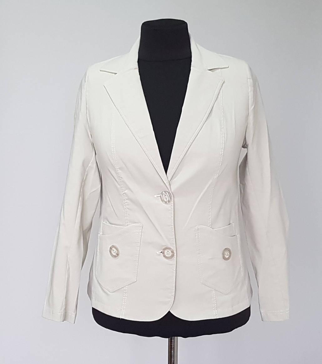 fc7f32867e3 Пиджак женский бежевого цвета большого размера - Интернет-магазин  «KatrinStyle» в Хмельницком