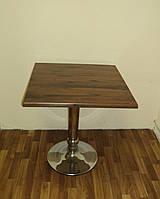 Стол Дуб античный с фигурным подстольем