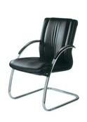 Кресло офисное для посетителей эко кожа Джетта