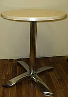 Стол для кафе с откидным верхом алюминиевый