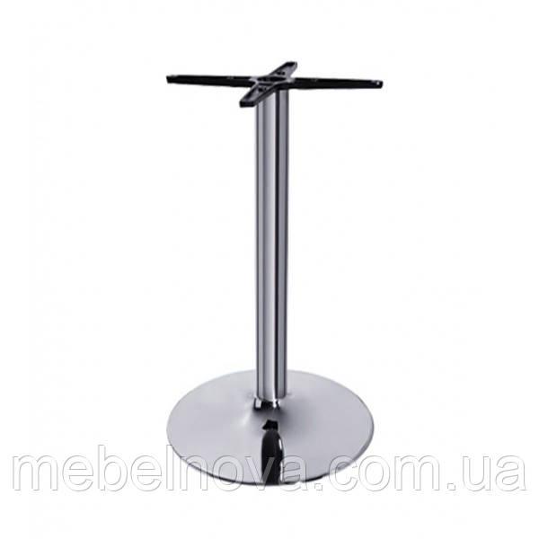 Опоры для столов металлические А-15/730/1100 Подстолья хромированные для кафе, баров, ресторанов,офисов и дома