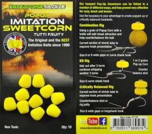 Кукуруза Enterprise tackle Popup Sweetcorn Yellow Tutti Fruity Flavour