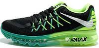 Мужские кроссовки Nike Air Max 2015 green/black
