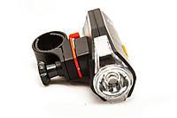 Велосипедный фонарик со стопом KK-606, Вело комплект с задней фарой, Хит продаж