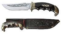 """Охотничий нож """"Орел"""", Спутник, наконечник - голова орла, надежный и прочный помощник охотнику"""