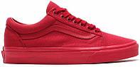 Кеды женские Vans Old Skool Crimson красные