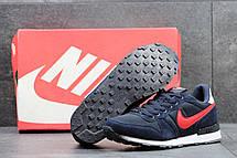 Летние мужские кроссовки Nike синие с красным 44, фото 3