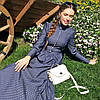 Джинсовое платье 2 цвета