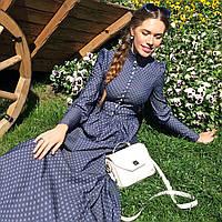 Джинсовое платье 2 цвета, фото 1