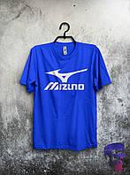 Футболка ярко-синяя Mizuno L