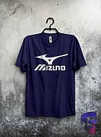 Футболка темно-синяя Mizuno XL