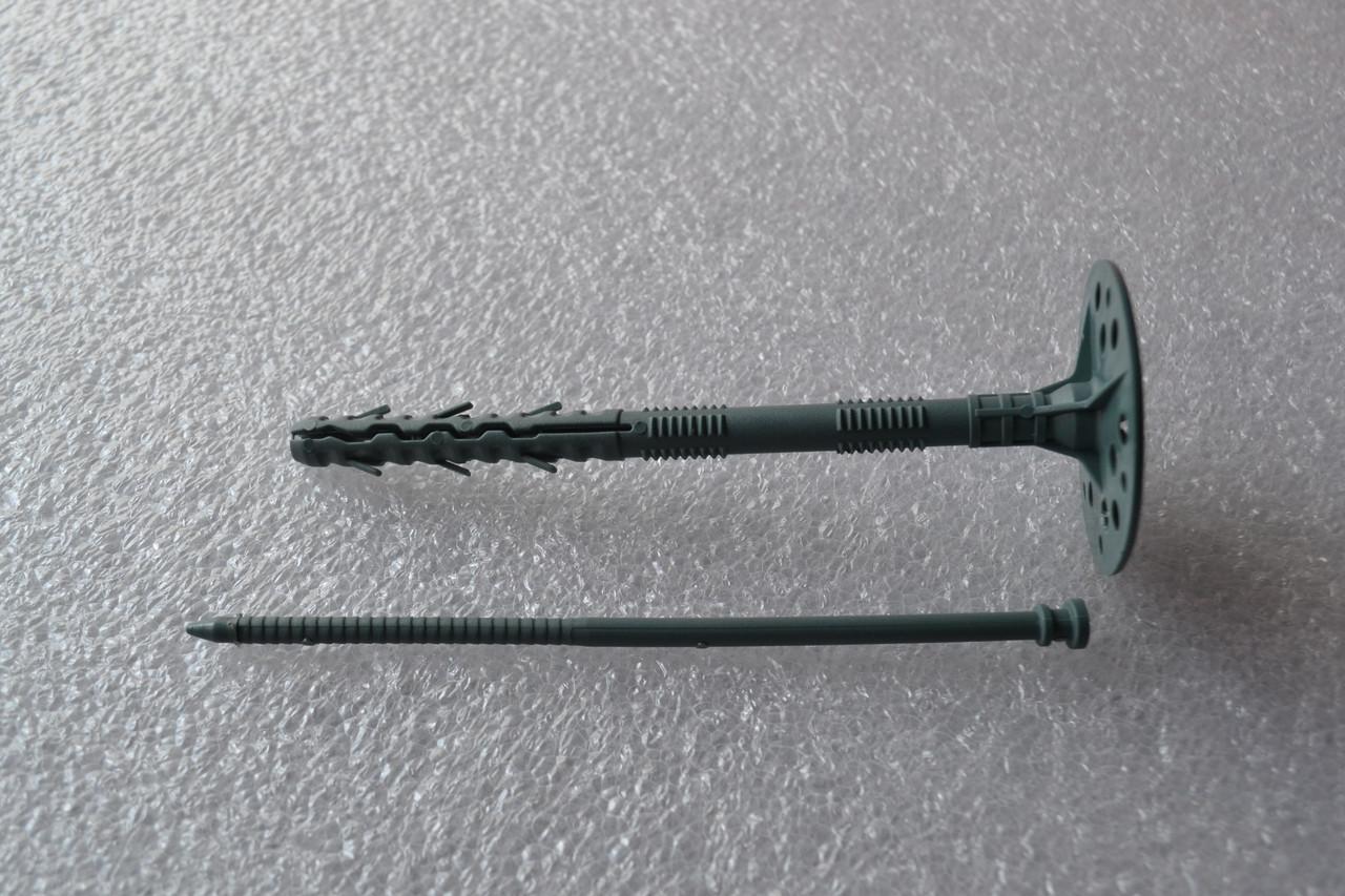 Дюбель-зонт с пластиковым гвоздем 10х160мм (стандарт).