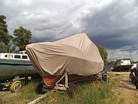 Стояночно- транспортировочный тент на баркас, фото 1