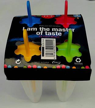 Формочки для мороженого 4 шт.