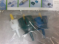 "Набор крышек на флакон к шприцу ""Eco-matic"" с трубкой, диаметр: 20мм, 30мм, 33мм ""HENKE"" (Германия)"