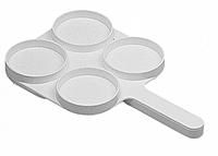 Планшетка для тестування молока на мастит, біла (Німеччина)