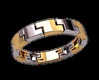 Мужское золотое кольцо Lego
