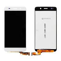 Дисплей (LCD) Huawei Honor 4A/ Y6 с сенсором белый