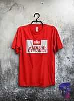 Футболка красная Weekend Offender