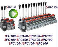 Механический гидрораспределитель секционный PC100