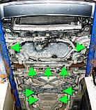 Защита картера двигателя и кпп Audi S8 2011-, фото 7